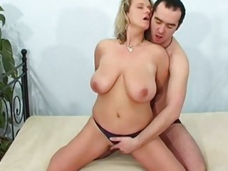 horny fresh lady licks and bangs with facial