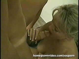 naughty blonde woman acquires libido and sperm