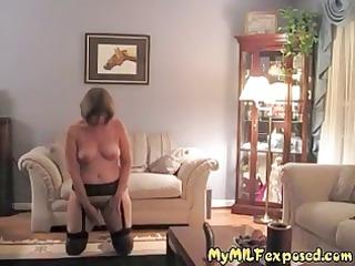 mature lady exposed  retro pantyhose granny