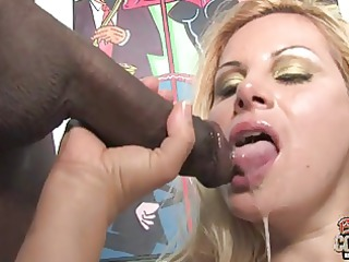 slutty white mommy friday used by 2 blacks