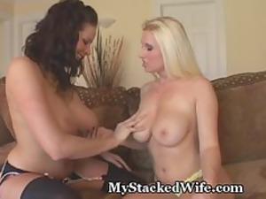 my two horny girls bang