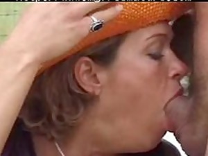 old karina with two boys older older fuck granny